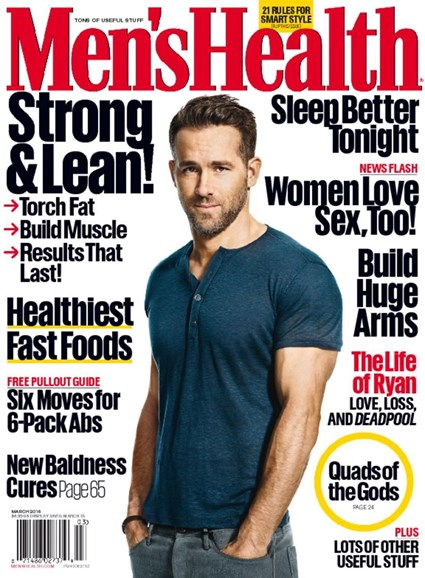 Men's Health Cover - 3/1/2016