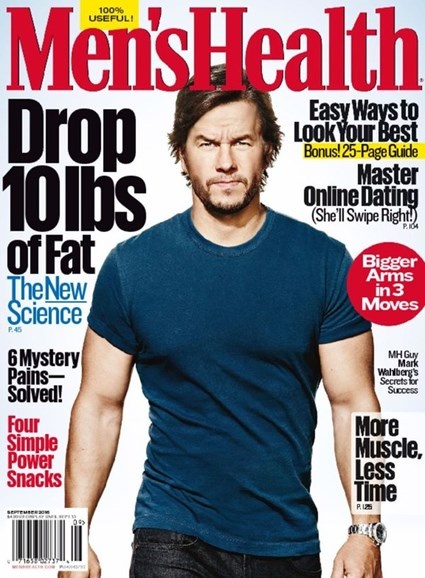 Men's Health Cover - 9/1/2016