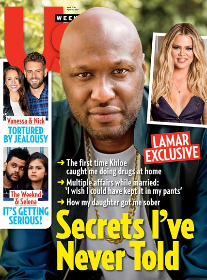Us Weekly Cover - 4/10/2017