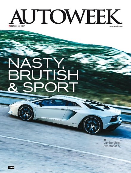 Autoweek Cover - 3/20/2017
