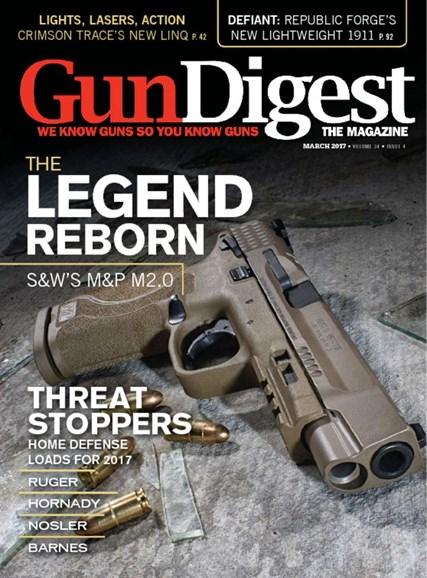Gun Digest Cover - 3/1/2017