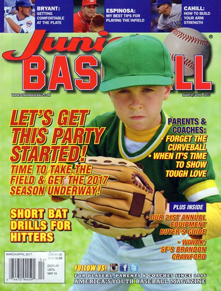 Junior Baseball Cover - 3/1/2017