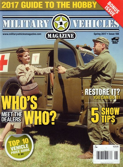 Military Vehicles Cover - 3/1/2017