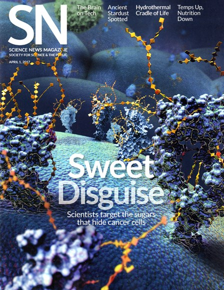 Science News Cover - 4/1/2017
