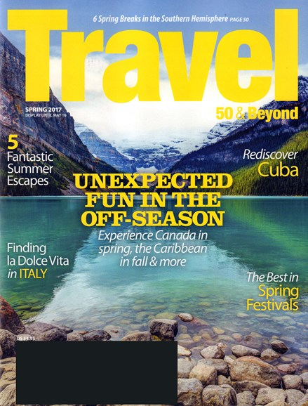 Travel 50 & Beyond Cover - 3/1/2017