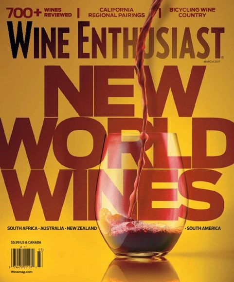 Wine Enthusiast Cover - 3/1/2017