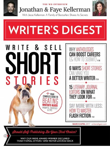 Writer's Digest Cover - 3/1/2017