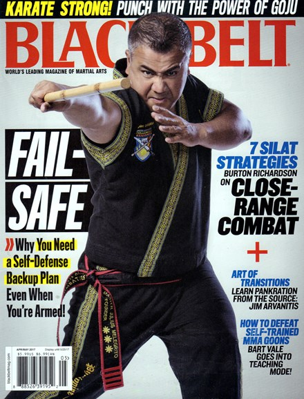 Black Belt Magazine Cover - 4/1/2017