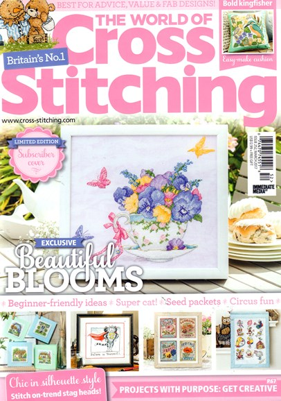 The World of Cross Stitching Cover - 3/1/2017