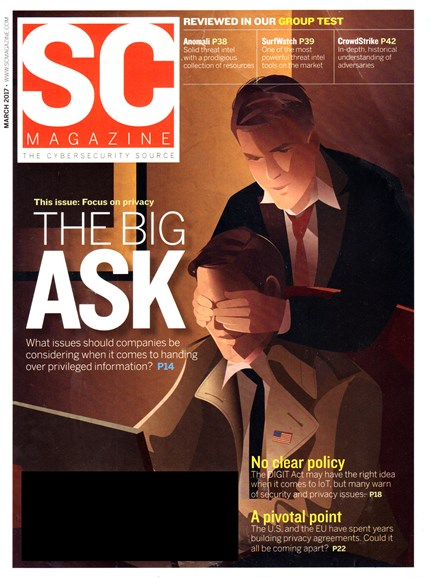 SC Magazine - U.S. edition Cover - 3/1/2017