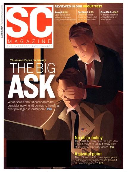SC Magazine - U.S. edition Cover - 3/1/2017