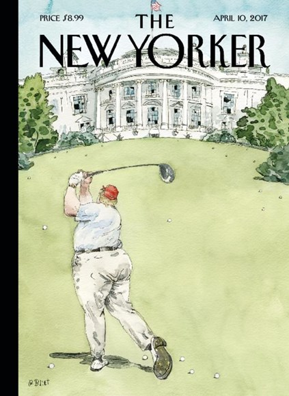 The New Yorker Cover - 4/10/2017