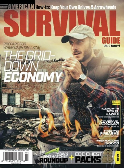 American Survival Guide Cover - 4/1/2017