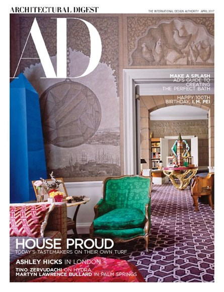 Architectural Digest Cover - 4/1/2017