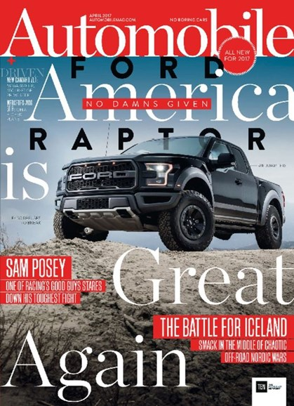 Automobile Cover - 4/1/2017