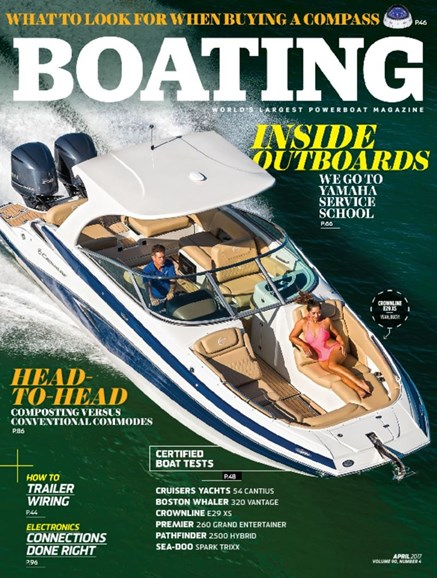 Boating Cover - 4/1/2017
