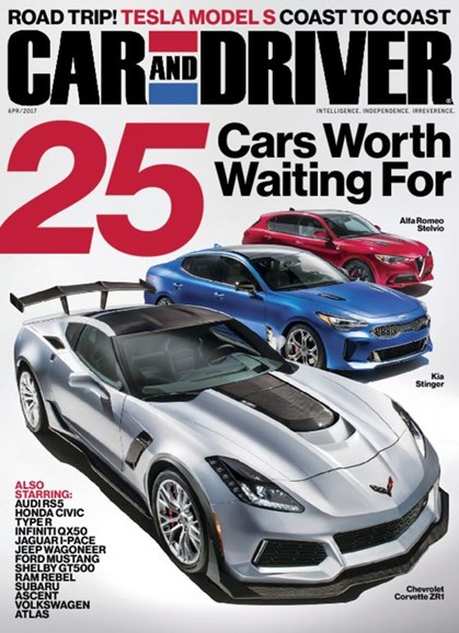 Car And Driver Cover - 4/1/2017