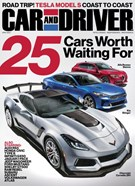 Car And Driver Magazine 4/1/2017