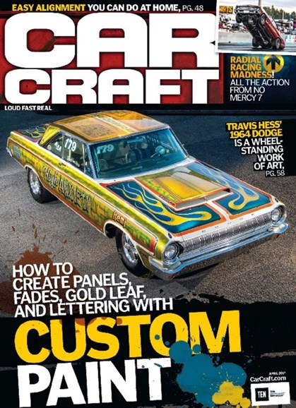 Car Craft Cover - 4/1/2017