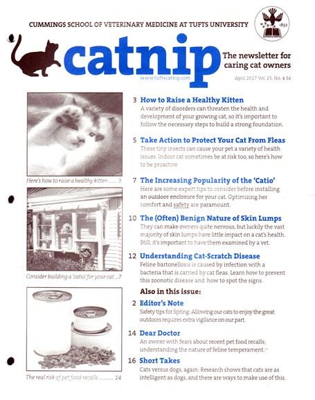 Catnip Cover - 4/1/2017