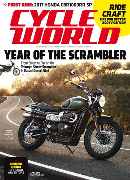 Cycle World Cover - 4/1/2017