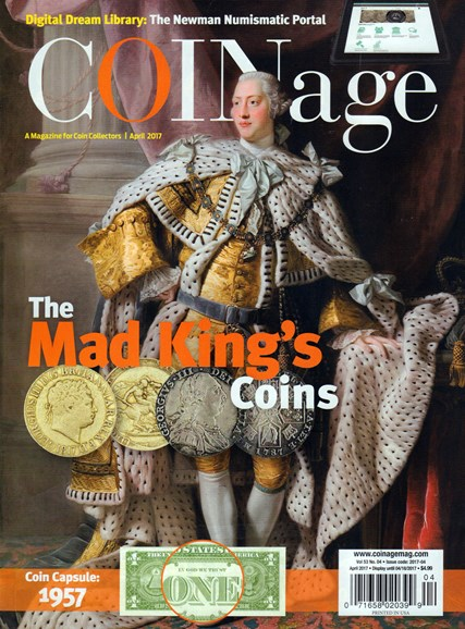 Coinage Cover - 4/1/2017