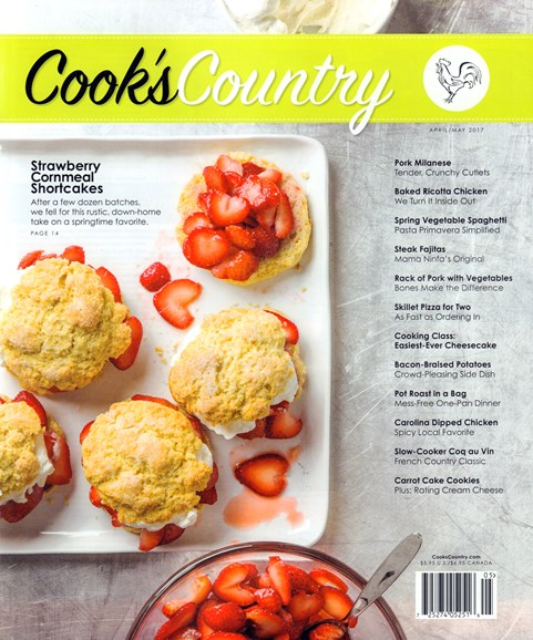 Cook's Country Cover - 4/1/2017