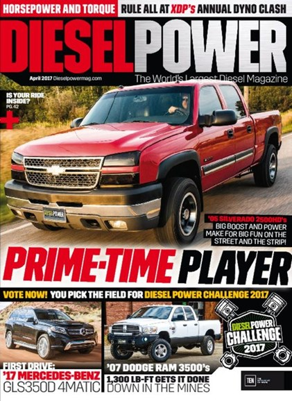 Diesel Power Cover - 4/1/2017