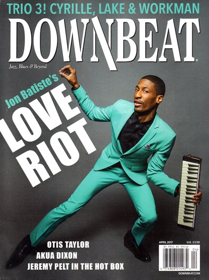 DownBeat Cover - 4/1/2017