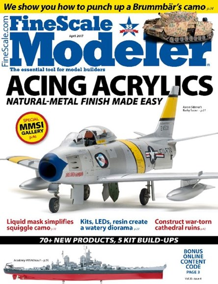 Finescale Modeler Cover - 4/1/2017