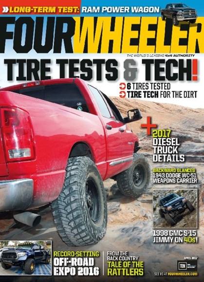Four Wheeler Cover - 4/1/2017