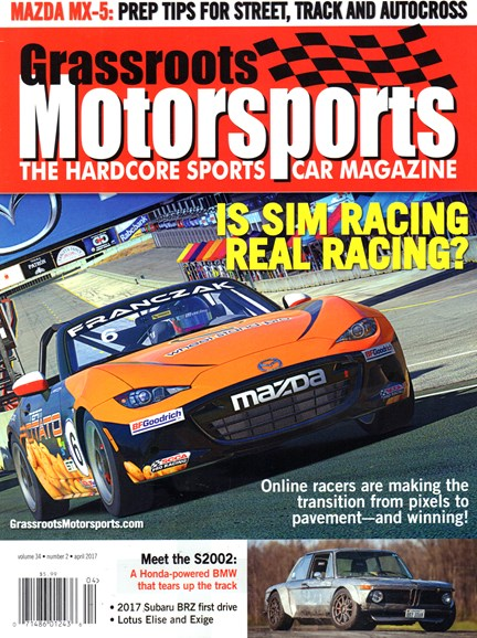 Grassroots Motorsports Cover - 4/1/2017