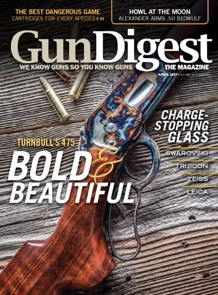 Gun Digest Cover - 4/1/2017