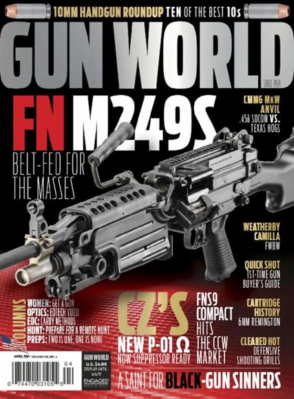 Gun World Cover - 4/1/2017