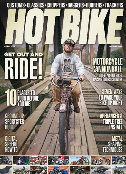 Hot Bike Cover - 4/1/2017