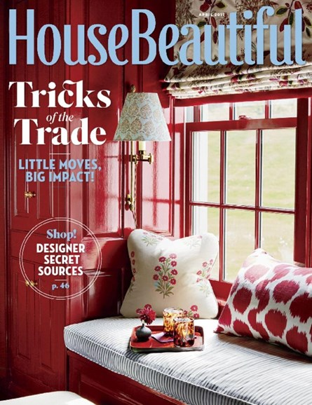 House Beautiful Cover - 4/1/2017