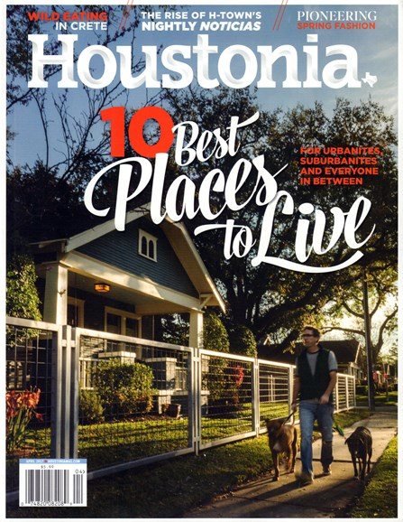 Houstonia Cover - 4/1/2017