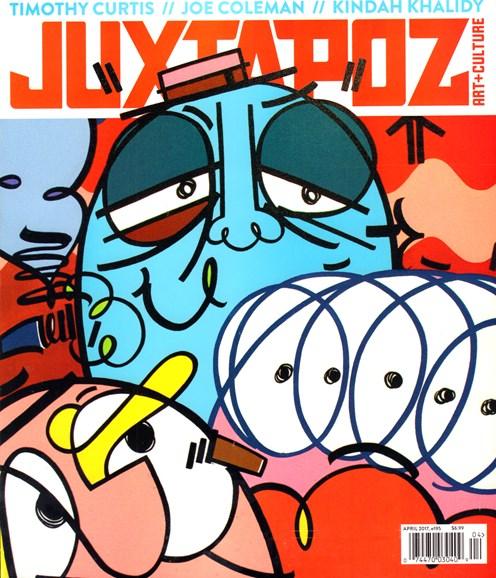Juxtapoz Cover - 4/1/2017
