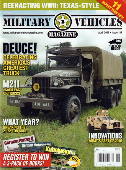 Military Vehicles Cover - 4/1/2017