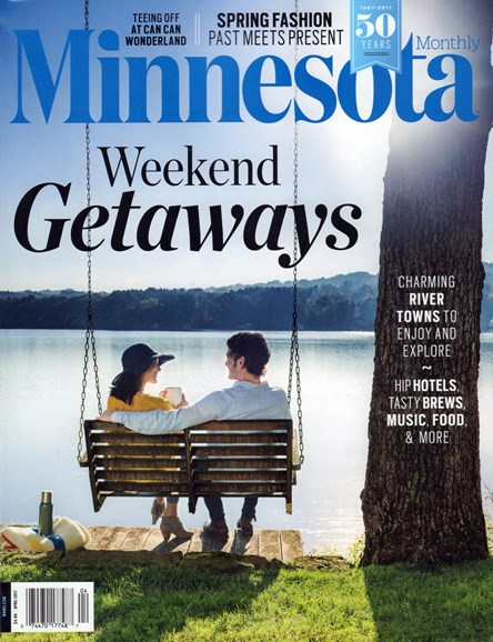 Minnesota Monthly Cover - 4/1/2017