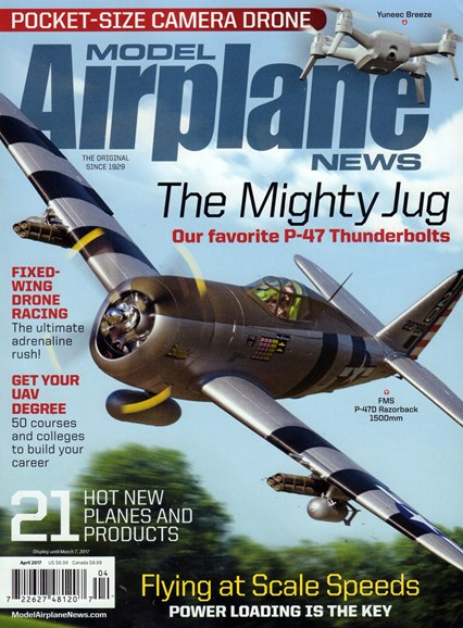 Model Airplane News Cover - 4/1/2017