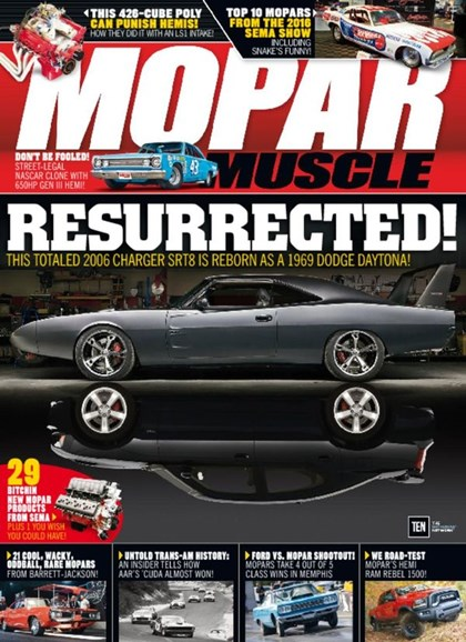 Mopar Muscle Cover - 4/1/2017