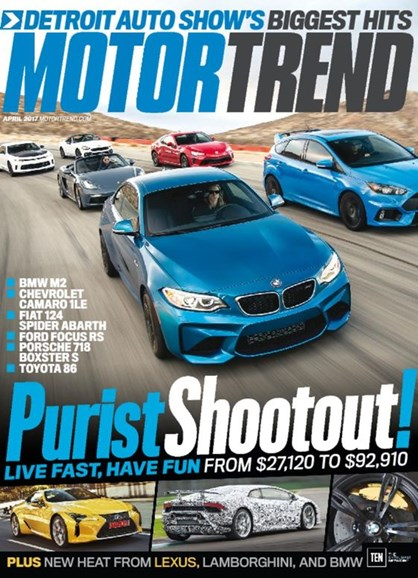 Motor Trend Cover - 4/1/2017