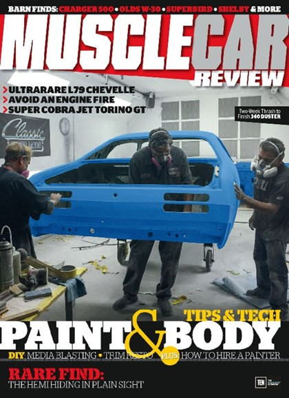 Muscle Car Review Cover - 4/1/2017