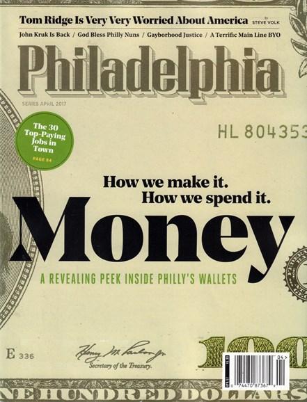 Philadelphia Magazine Cover - 4/1/2017