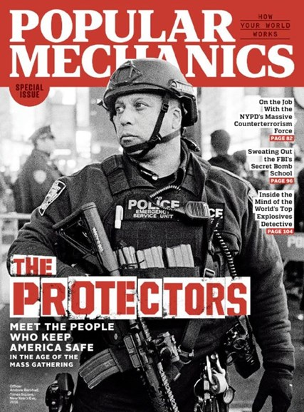 Popular Mechanics Cover - 4/1/2017