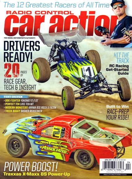 Radio Control Car Action Cover - 4/1/2017