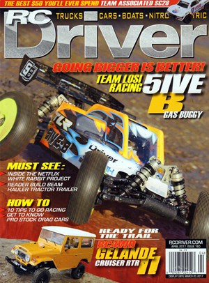 RC Driver Magazine | 4/1/2017 Cover