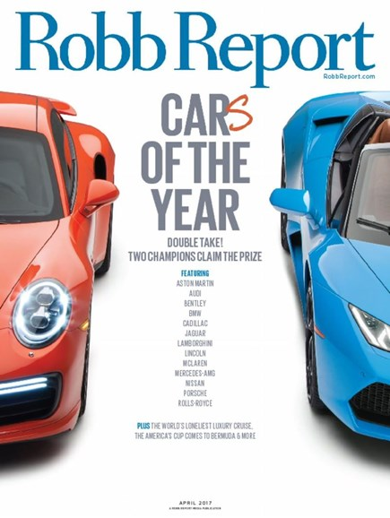 Robb Report Cover - 4/1/2017