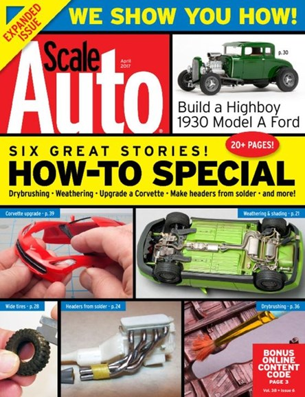 Scale Auto Magazine Cover - 4/1/2017
